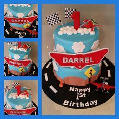 Disney Planes Cake 1st Birthday