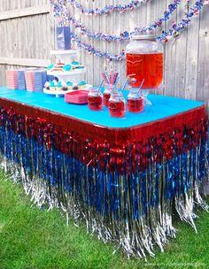4th of July Backyard Party Ideas #OrientalTrading