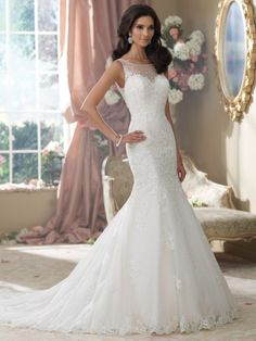 Doesnt come out til Fall -Style No. 214207  »  David Tutera for Mon Cheri. This is gorgeous! Dothan