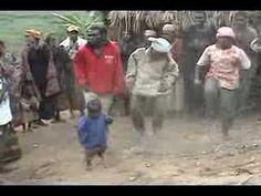 Bisakera pygmee village, Burundi -- The Batwa Dance