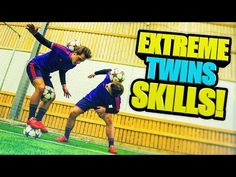 AMAZING Football & Freestyle Skills  by SkillTwins (Ronaldo/Neymar/Messi Skills)