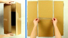 4 Pieces Of Cardboard Will Bring Order To Your Life