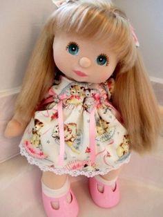 MY-CHILD-DOLL-EURO-AUSSIE-Ash-Blonde-UL-Hair-Girl-Aqua-Eyes-Pink-FULLY-DRESSED