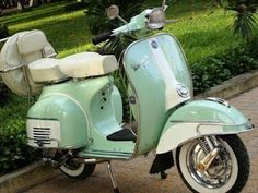 I want an old school vespa!