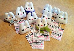 The Giving Bunny Project - Bunnies all ready to deploy!   Flickr - Photo Sharing!
