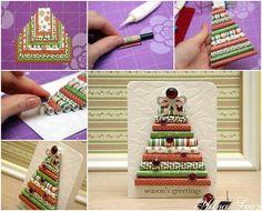 Creative Ideas - DIY Wrapping Paper Christmas Tree | iCreativeIdeas.com Follow Us on Facebook --> https://www.facebook.com/iCreativeIdeas