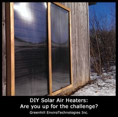 """Huge clean-tech innovation of this century starts at home: """"Are You a Solar Space Heating Cadet?"""" #solar #energy #hot"""