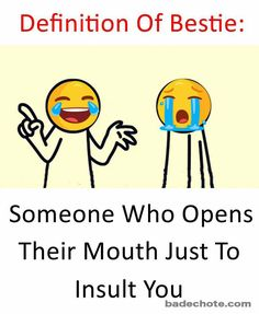 Tag those bestiesbestie bff friends friendship insult badechote badechoteofficial like bollywood meme Tag those bestiesbestie bff friends friendship i… – Best Friends Forever Childhood Friends Quotes, Best Friend Quotes Funny, Besties Quotes, Bffs, Best Friendship Quotes, Friend Friendship, Mixed Feelings Quotes, Attitude Quotes, Funny School Jokes