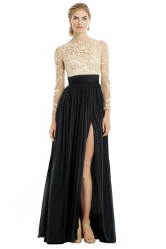 Old school elegance that's somehow edgy, in the running for my gala #StyleDilemma // CATHERINE DEANE Patricia Gown