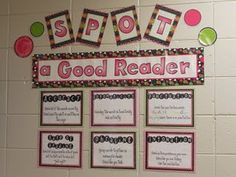 Hot Spot News From Miss Powers' Grade!: Pictures -Spot a good reader Classroom Displays, Classroom Themes, Classroom Organization, Classroom Design, Classroom Management, Organization Ideas, Reading Posters, Reading Wall, Reading Boards
