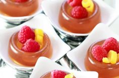 Set out a tray of these French 75 Jell-O shots at your next party.