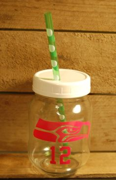 Fun Mason jar tumblers by T8rBugz on Etsy https://www.etsy.com/listing/235584056/fun-mason-jar-tumblers