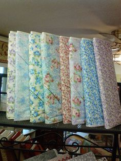 Nicole by Moda   one yard each of the by KaronsFabricBoutique