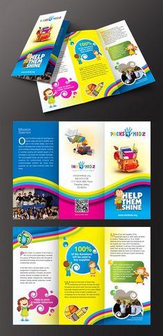 CHARITY BROCHURE FOR KIDS by Designer Amrita