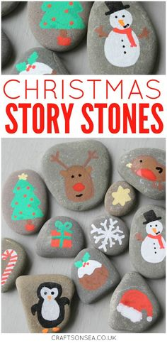 Love painted rock ideas? These DIY Christmas story stones are super simple to make and a great way to encourage your kids creativity.