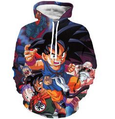 Goku 3D Unisex Outerwear Hoodies Sweatshirt //Price: $44.99 & FREE Shipping //   #dragonballz #anime