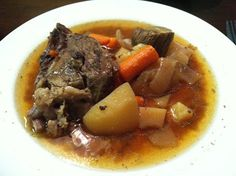 AUSTINTXMOM.COM: Recipe: Extremely Easy Crockpot Roast Beef