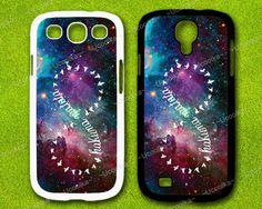 Nebula Infinity HAKUNA MATATA  Samsung Galaxy S4 Case by Ucoolka