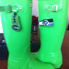 Seahawks Rain Boots