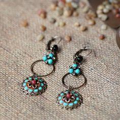 Gypsy Dancer Indie Earrings By Sweet Romance