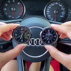 Cool Gadgets To Buy, Car Gadgets, Bmw Autos, Car Interior Decor, Cute Car Accessories, Clock Display, Metal Models, Cool Inventions, Cute Cars