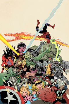 MARVEL MASH UP by Paul Pope