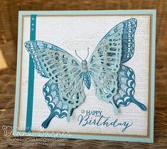 Special friends birthday butterflies