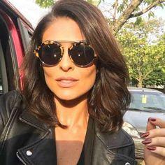Juliana Paes exibe cabelo mais curto e pede opinião dos fãs: 'Cortei! Gostaram?' - Instagram