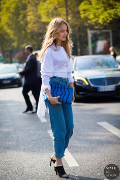 Alexandra Carl Street Style Street Fashion Streetsnaps by STYLEDUMONDE Street Style Fashion Photography