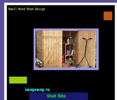 Small Wood Shed Design 193436 - The Best Image Search