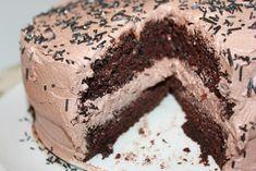 Nydelig, saftig enkel å lage sjokoladekake   Spiselise