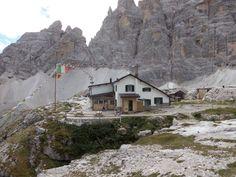 Rifugio Carducci Auronzo di Cadore Belluno Dolomiti Veneto Italia