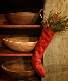 Stocking made by Stacee Droit of Arnett's Country Store