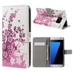 Köp Plånboksfodral Samsung Galaxy S7 Edge körsbärsblom online: http://www.phonelife.se/planboksfodral-samsung-galaxy-s7-edge-korsbarsblom