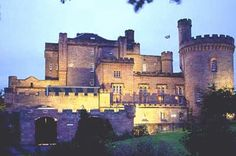 Dalhousie Castle (Scotland) - I was married here 21/9/1998