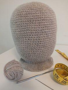Ravelry: Adult/ Large Child Crochet Mannequin Head pattern by Natalie Sovde