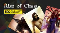 Rise of Clans and NewRPG have partnered up to give away a total of for new game players. Create an account in the game and hit at least level 3 and leave a comment. Aragon, Level 3, News Games, Giveaway, Wonder Woman, Superhero, Create, Wonder Women