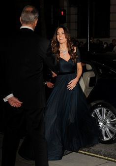 The Duchess of Cambridge attends the Portrait Gala at the National Portrait Gallery in London 11 Feb 2014