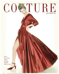 Wall Art Couture Magazine Cover print