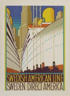 SAL ~ Swedish American Line