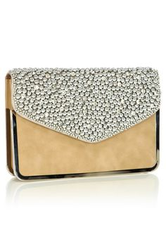 Jazzled Clutch Bag | Silver | Oasis Stores