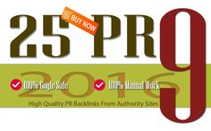 create 25 PR9 backlinks from high pr and authority domains by jastina