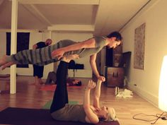 Partner Yoga Workshop | by JuYogi #acroyoga