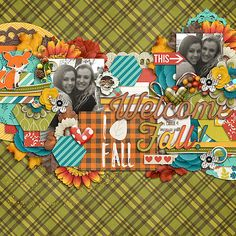 Scrapbook Layout by Nikki Epperson using All Year Round: Jubilations by Traci Reed and Jady Day Studios