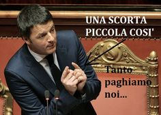 Matteo Renzi 24 auto di scorta