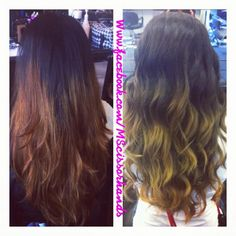An ombré fix... Ombré should flow nicely  make sure you are going to someone who knows what they are doing. <3