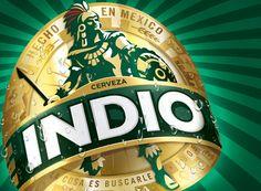 Mexican import beer branding - hidden symbolic imagery