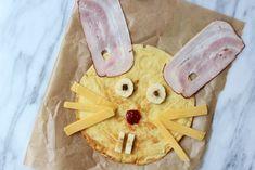 Paashaas pannenkoeken voor kinderen #pasen #easter #brunch