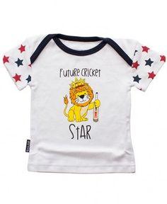 ECB England Cricket Baby Future Cricket Star Tee 0-24 months