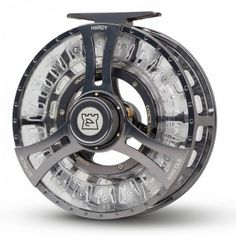 """Hardy CLS Ultralight 9000 """"CLS"""" stands for Cassette Locking System.This reel includes the Hardy Line ID system - use the moveable, reuseable pins to mark the line type. Neater than marker pen, more reliable than stickers, and best of all can be changed when you change your line.   Tight Lines, AOS Fly Fishing Team"""